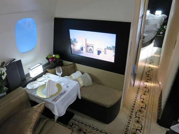Etihad Airways aircraft interiors
