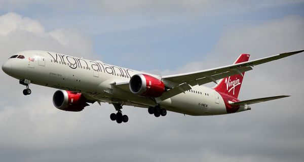 Virgin Atlantic Boeing 787. Credit: Aleem Yousaf
