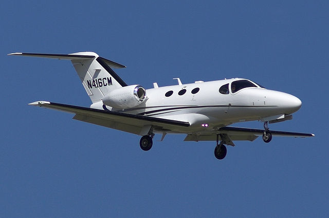Cessna 510 Citation Mustang N416CM