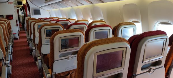 Inside the Air India flight during COVID-19